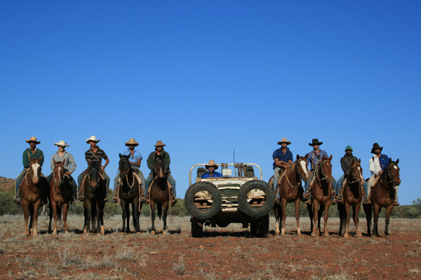 mustering crew