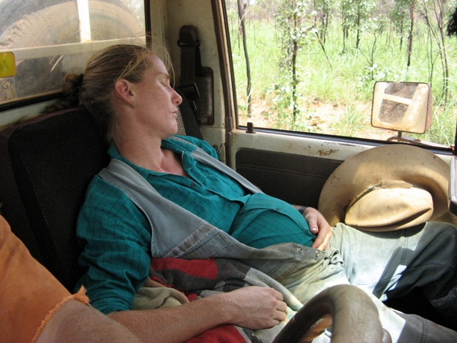 36 weeks pregnant - sleeping on the job!