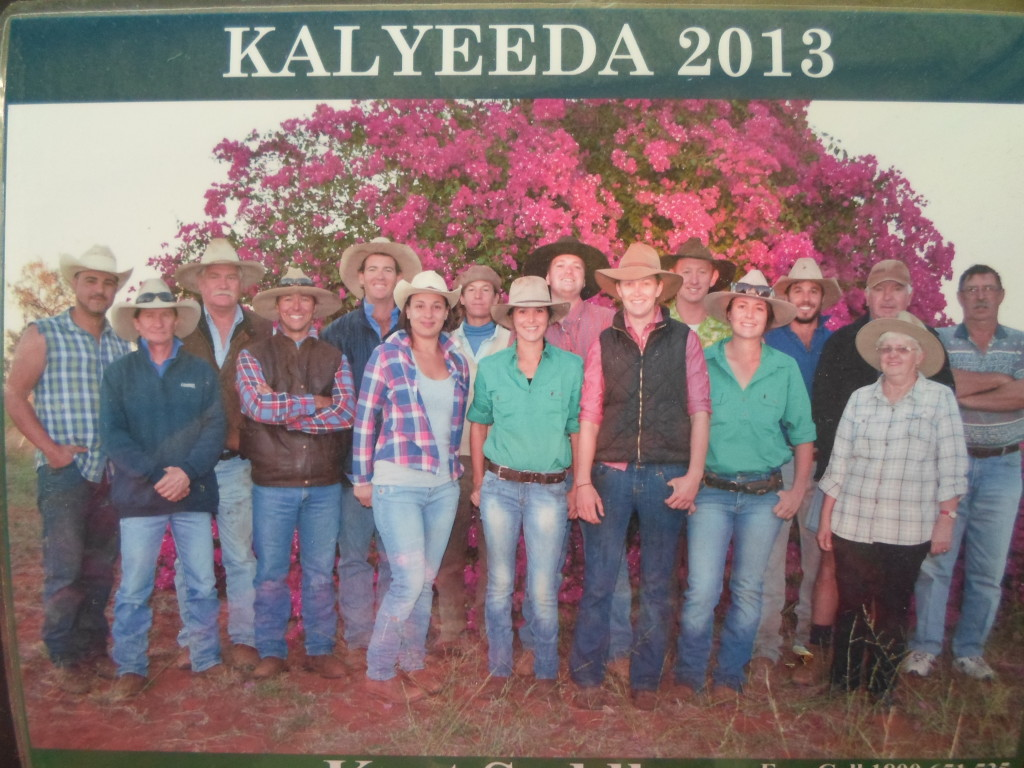 Some of the Kalyeeda Crew