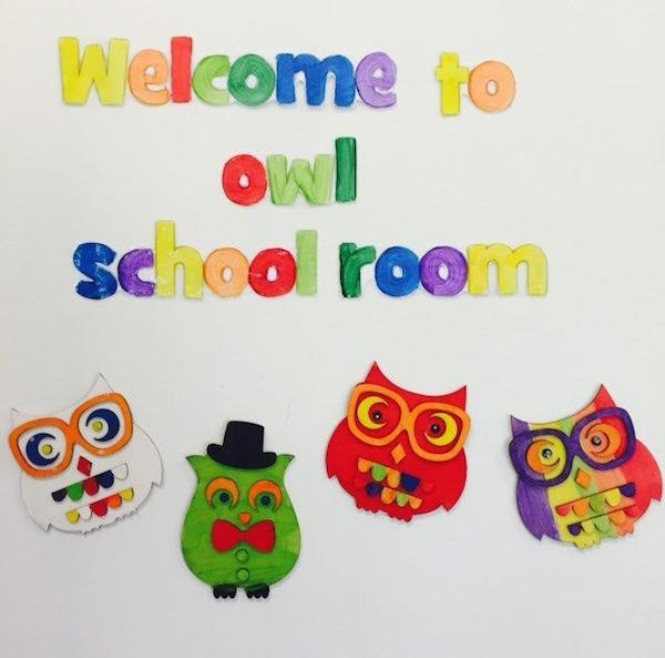 5.5 Welcome to owl schoolroom