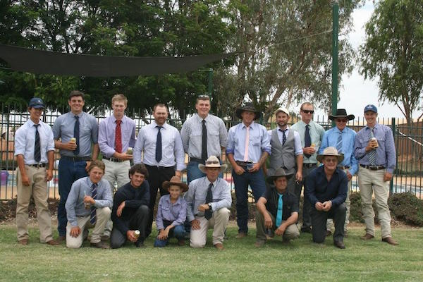 7.13All the boys dressed to impress at the 2014 Melbourne Cup