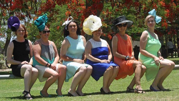 7.33Ladies dressed to impress Melborne Cup day