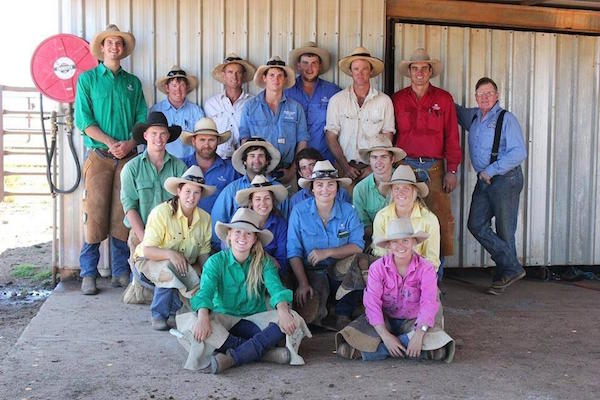 7.5Participants in 2014 Bill Hutton shoeing school