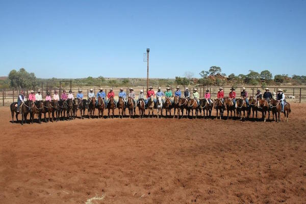 7.7Staff at a Wayne and Rachael Bean Horsemanship school