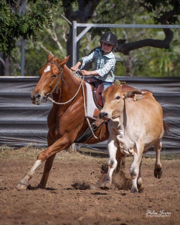 Blog 1 - Photo 9 Annabelle competing in junior draft in Katherine 2014. 2