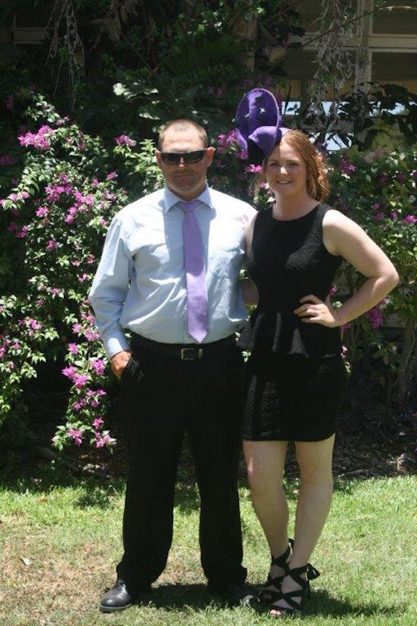 Blog 2 - Photo 1 Luke and Briony dressed to impress on Melbourne Cup Day held at helen Springs. 2