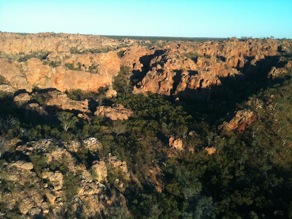 Photo 2. As a pilot, he gets to see some jaw dropping scenery right across the NT copy