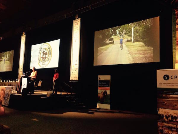Photo 4. FutureNTCA members Melissah and Sam provided a great summary during the NTCA Conference in Darwin. copy