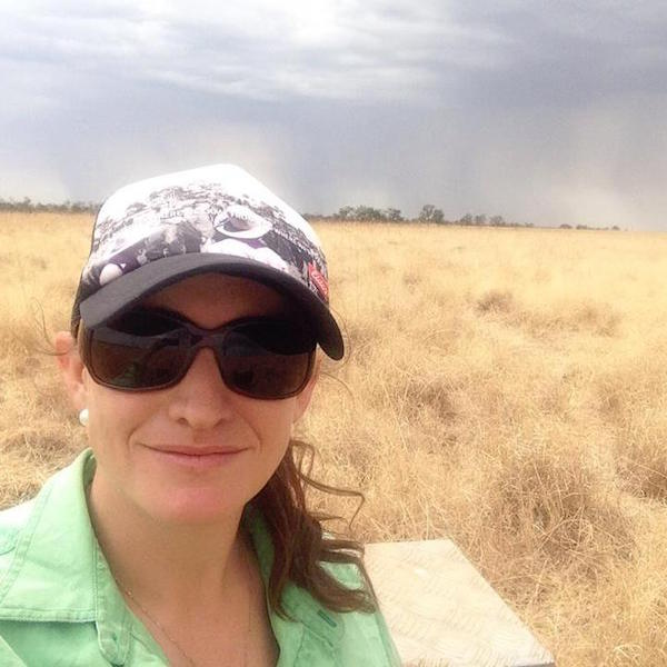 Photo 1. Hi I'm Jodie and I'm a Pastoral Production Officer at the Katherine Research Station copy