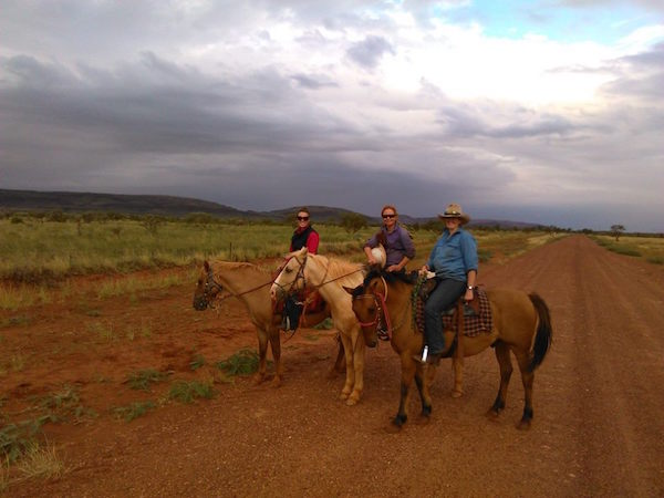 4.1 - Horse riding - Andrea, Tamsy and Amanda copy
