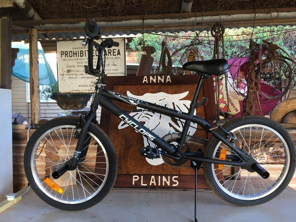 black-bike-anna-plains