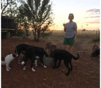 Outback sleepover