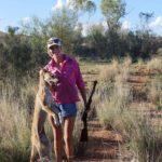 Wild dog vs calf
